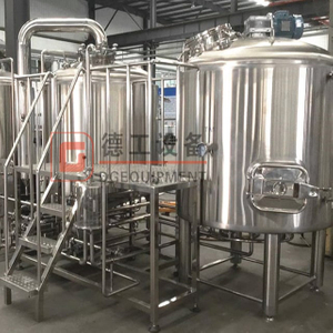 1000L Automatic SS Craft Beer Equipment Cervecería llave en mano Fabricante en stock