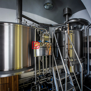 1000L Micro Hotel / bar / pub Craft Acero inoxidable / cobre Beer Brewing Equipment Micro Brewery Equipment